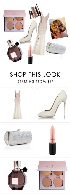 """Red Carpet"" by larissanelson02 ❤ liked on Polyvore featuring Dsquared2, J. Furmani, MAC Cosmetics, Viktor & Rolf and Laura Mercier"