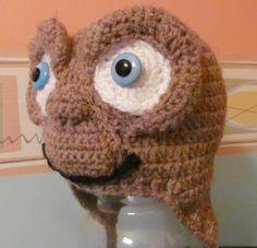 E.T. Crochet hat