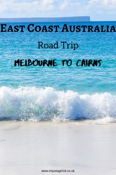 Check out my ultimate travel itinerary for a 1 Month East Coast Australia Road Trip from Melbourne to Cairns and everywhere in between! Coast Australia, Visit Australia, Australia Travel, Travel Advice, Travel Guides, Travel Tips, Budget Travel, Cheap Travel, Cairns