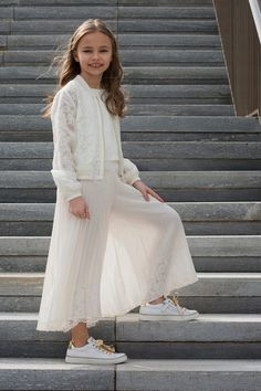 Morelli shoes and Twin set girl spring summer 2018 Photo: Ariana Currò Morelli shoes and Twin set girl spring summer 2018 Photo: Ariana Currò Kids Fashion Summer 2018 Kids Fashion Blog, Toddler Fashion, Girl Fashion, Fashion Outfits, Little Girl Outfits, Outfits For Teens, Toddler Outfits, Toddler Girls, Girls Party Dress