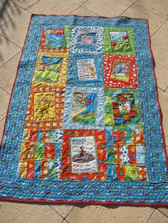 Lorax Quilt by quokkaquilts on Etsy, $250.00