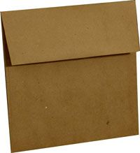 Brown bag kraft envelope 100 pack  MADE IN THE USA!!! 100% Post consumer waste!   $16.50