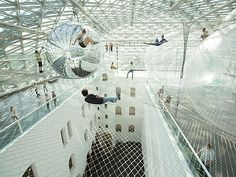 Dusseldorf Germany  (June 2013 - mid-Summer 2014)  Tomás Saraceno - in orbit, © T. Saraceno, photo: Studio Saraceno