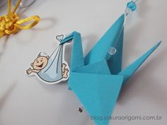 Lembrancinhas de nascimento: mini móbile de tsuru e nó chinês baby - Sakura Origami Ateliê Washi, Bullet Journal, Baby Shower, Young Children, Baby Ideas, Crafts, Blog, Silver Anniversary, Baby Boy Shower