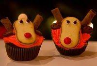 Milano, the Reindeer Cupcake