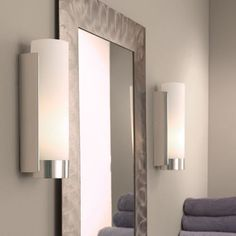 How To Light a Contemporary Bathroom With Wall Sconces ...