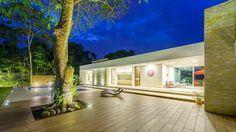 Casa de la Acacia - Sombra Natural: Casas de estilo moderno por David Macias Arquitectura & Urbanismo