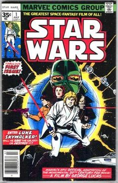 Star Wars (1977) No. 1 (35-Cent Cover)