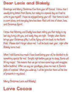 IM Back Elf On The Shelf Return Letter Sparkles Flores  Elf On