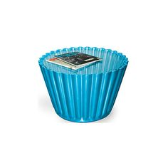 GiftGenius: Giant Cupcake Table ($750) ❤ liked on Polyvore featuring home, furniture, tables, accent tables, blue, decor, blue accent table, blue furniture and blue table
