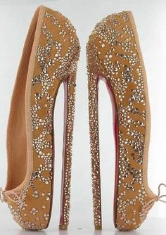 pointe shoe heels. New mission.