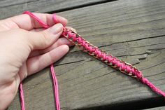 DIY: Chain Friendship Bracelets - The Stripe