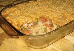 One-Bowl Thanksgiving Leftover Casserole