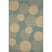 Found it at Wayfair - Monterey Ocean Mums Indoor/Outdoor Rug