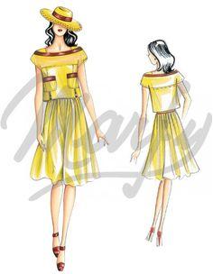 Model 3092 | Sewing Pattern Shirts / Tunic