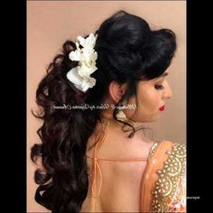 wedding hairstyles asian Wedding Updo with Headband Unique Flower Girl Hairstyles with Headband Unique Long Hair Stules How to - - Easy Wedding Guest Hairstyles, Curly Wedding Hair, Indian Wedding Hairstyles, Wedding Hair Flowers, Wedding Updo, Wedding Cake, Bridesmaid Hairstyles, Wedding Dress, Lehenga Wedding
