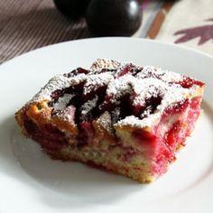 Gâteau aux prunes : 55 recettes de desserts aux couleurs de l'été indien - Journal des Femmes