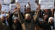 Pakistán: choques en protestas contra Charlie Hebdo
