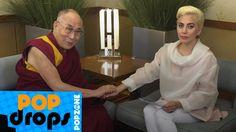 Lady Gaga e Dalai Lama se encontram #PopDrops @PopZoneTV  http://popzone.tv/2016/07/lady-gaga-e-dalai-lama-se-encontram-popdrops-popzonetv.html