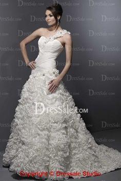 2013 Latest Fashion Floral One-shoulder in Flower Motif