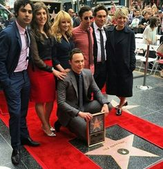 Big Bang Jim gets a Hollywood star