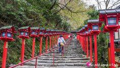 Le Sanctuaire Kibune-jinja est réputé pour accueillir la divinité shintô de l'eau. #Kyoto #Sanctuaire #kibunejinja