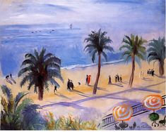 La Croisette  Henri Charles Manguin was a French painter, associated with Les Fauves. Manguin entered the École des Beaux-Arts to study under Gustave Moreau, as did Matisse and Charles Camoin with whom he became close friends.