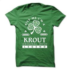 KROUT - Kiss Me IM Team - #tshirt organization #comfy hoodie. I WANT THIS => https://www.sunfrog.com/Valentines/-KROUT--Kiss-Me-IM-Team.html?68278