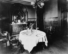 """Dining room 1880's"""