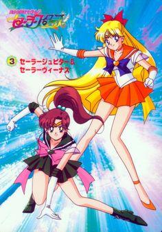 Super Sailor Jupiter / Super Sailor Venus