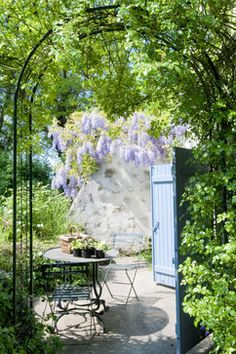French country home :: Wisteria Garden