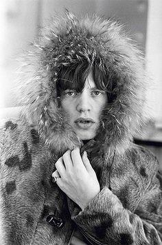 Mick Jagger, London, 1964. Photo: Terry O'Neill.