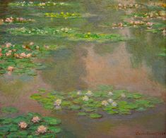 Water Lilies (1905) by Claude Monet