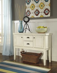 Series Name Whitesburg Item Dining Room Server Model D583 60 Dimensions 65 W X 18 D 36 H Weight 143 Lbs With Ashley Furniture
