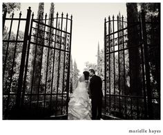 Dave and Evelyn's are married at Montalvo, photographed by Marielle Hayes.