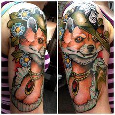 thievinggenius:    Tattoo done byAlex Dorfler.