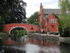 Barrow Upon Soar - Navigation Inn - Leicestershire Villages British Pub, British Isles, Pub Signs, Leicester, Landscape Photos, Great Britain, Rivers, Bridges, Wales
