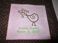 Disney cruise quilt label. | Things I make. | Pinterest | Disney ... : labels for baby quilts - Adamdwight.com