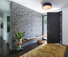Full house new construction and interior design Modern & Contemporary Entryway & Hallway Design