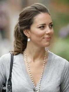 Catherine in one of her pre Duchess of Cambridge 's days