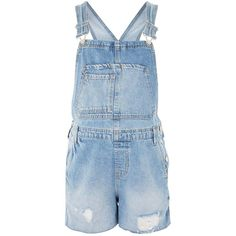 Topshop Maternity Short Boyfriend Dungarees ($50) ❤ liked on Polyvore featuring mid stone, basic tee shirts, basic tshirt and basic t shirt
