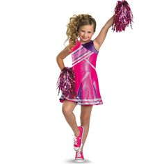 Halloween Costumes For Kids Girls Cheerleader  sc 1 st  Pinterest & Child High School Cheerleader Costume | Cheer | Pinterest ...