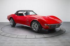 1972 Chevrolet Corvette Red