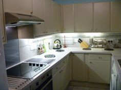 The new kitchen at Chichester Self Catering - Living Elements.