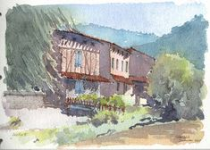Durfort Pen And Watercolor, Painting, Beautiful, Art, Art Background, Painting Art, Kunst, Paintings, Performing Arts