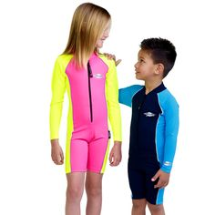 06c1d1a0 Kids Raysuit L/S: The long sleeve Raysuit presents a sleek look and is