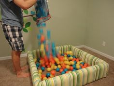 our life...: how to build a ball pit