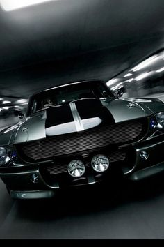 Ford Mustang Gt 1967 - great look 'n muscle car.  Love the front ends on these '67 GT's.