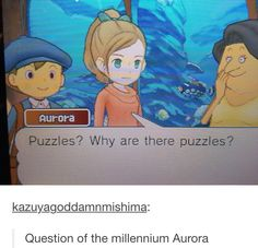 finally answers our question Layton Brothers Mystery Room, Apollo Justice, Tall Hat, Phoenix Wright, Quack Quack, Gamer Humor, Puzzle Games, True Gentleman, Welcome To The Family