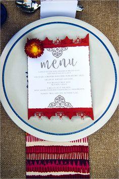 wedding menu design #weddingmenu @weddingchicks